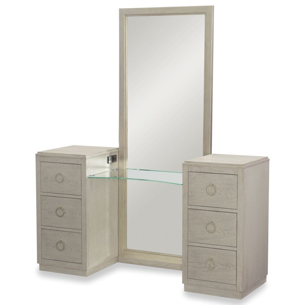 Rachael Ray Home By Legacy Classic Cinema 6 Drawer Vanity With Full