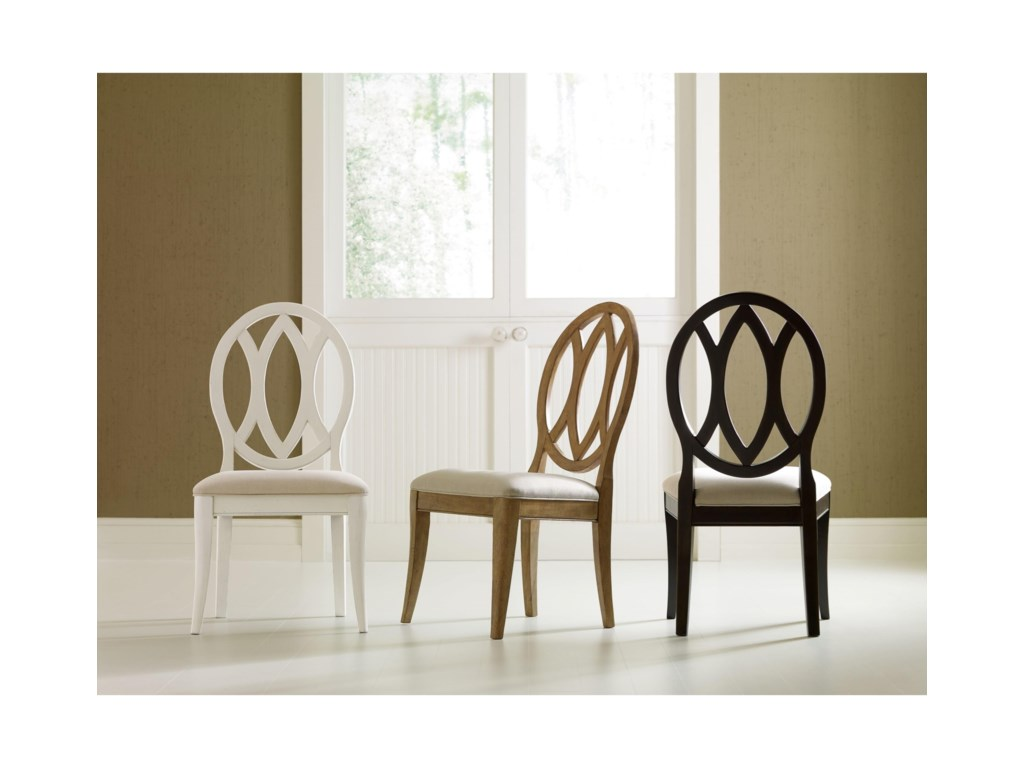 Rachael Ray Home by Legacy Classic Everyday DiningOval Back Side Chair