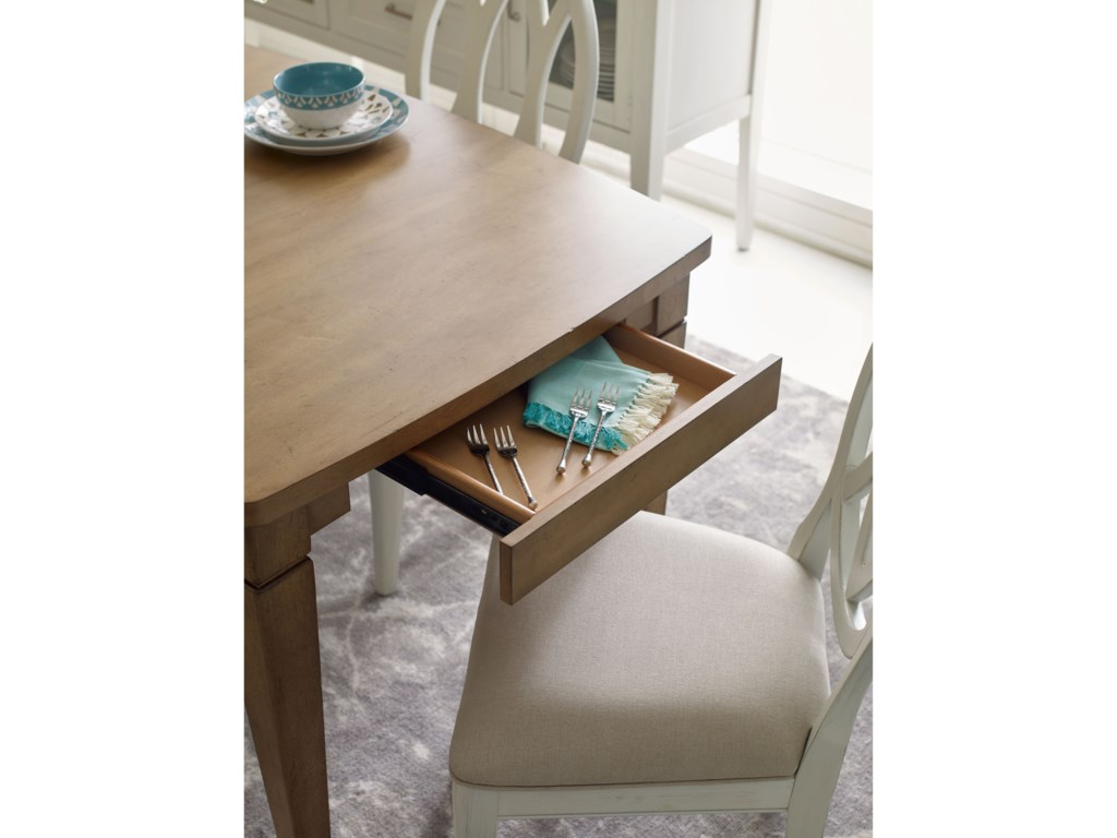 Rachael Ray Home by Legacy Classic Everyday DiningShaped Leg Table
