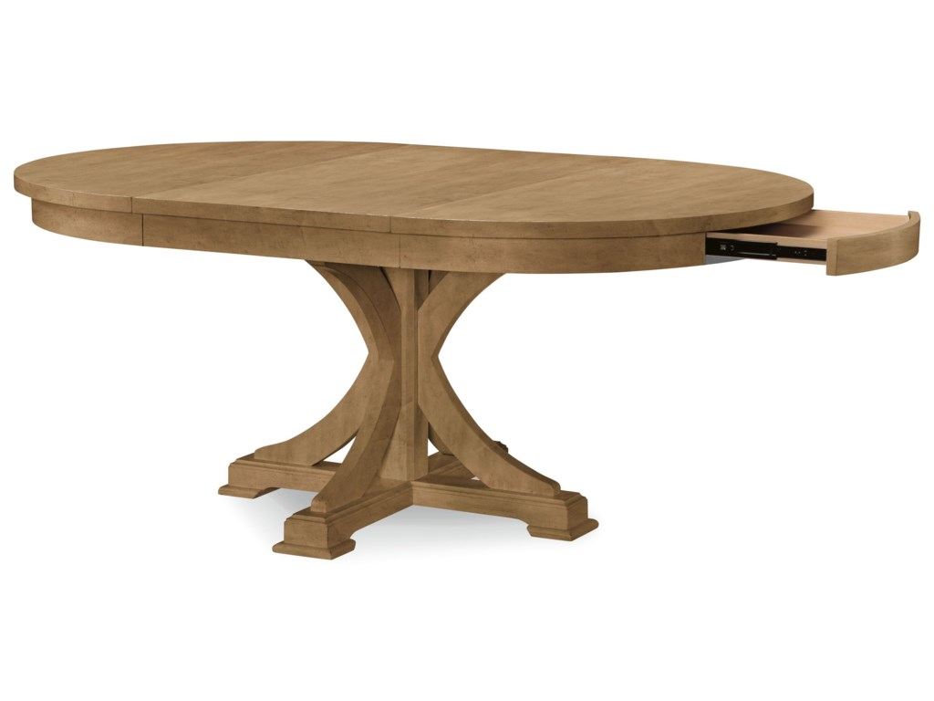 Rachael Ray Home By Legacy Clic Everyday Dininground To Oval Pedestal Table
