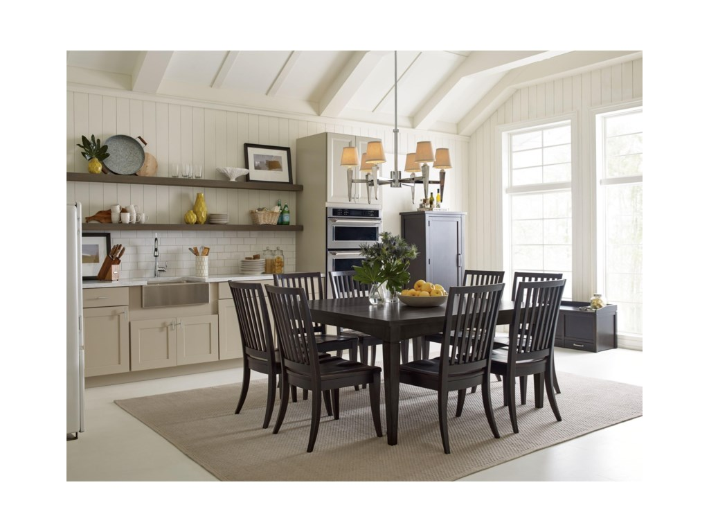 Rachael Ray Home by Legacy Classic RachaelSlat Back Side Chair