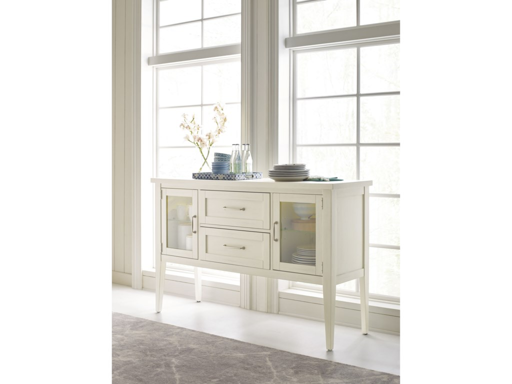 Rachael Ray Home by Legacy Classic Everyday DiningGlass Door Sideboard