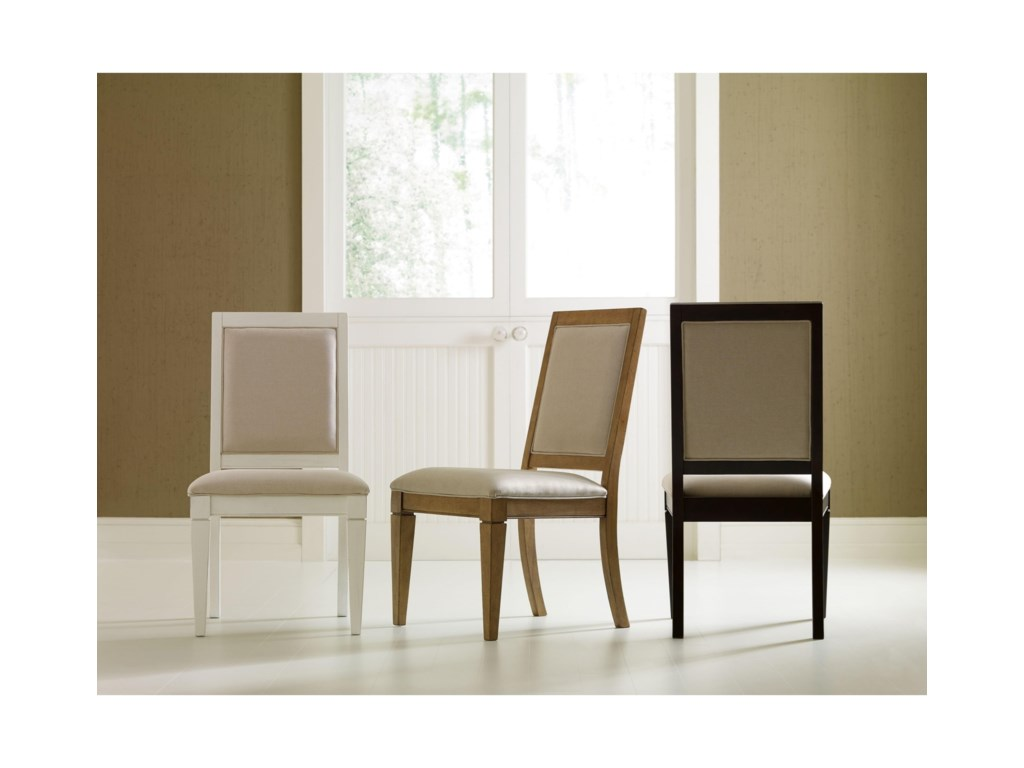 Rachael Ray Home by Legacy Classic Everyday DiningUpholstered Back Side Chair