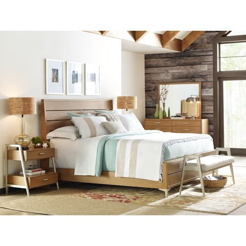 Rachael Ray Home by Legacy Classic Hygge  California King Bedroom Group