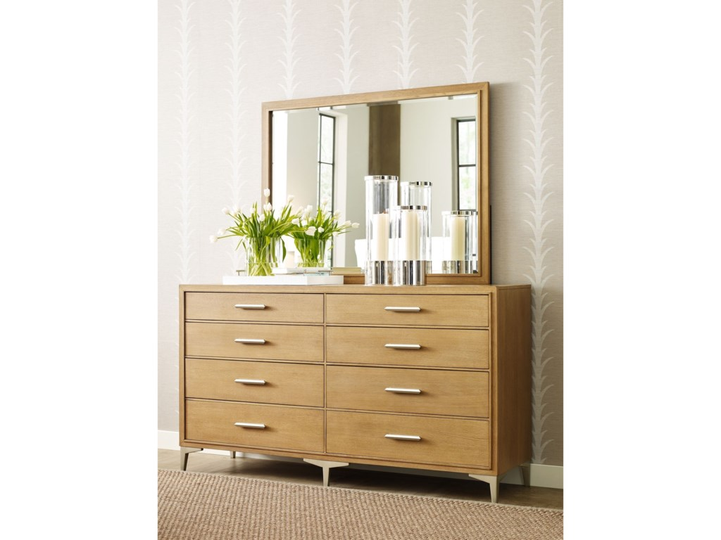 Rachael Ray Home by Legacy Classic Hygge Dresser and Mirror Set