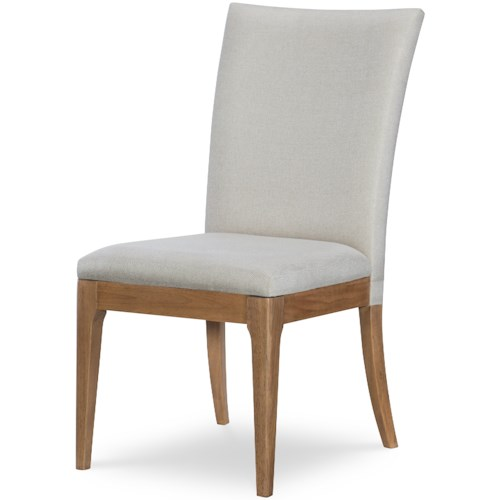 Rachael Ray Home by Legacy Classic Hygge  Contemporary Upholstered Back Side Chair