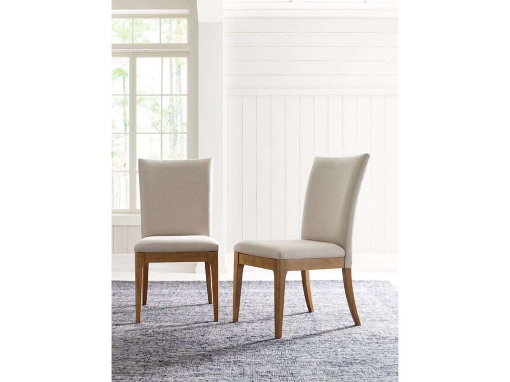 Rachael Ray Home by Legacy Classic Hygge Upholstered Back Side Chair