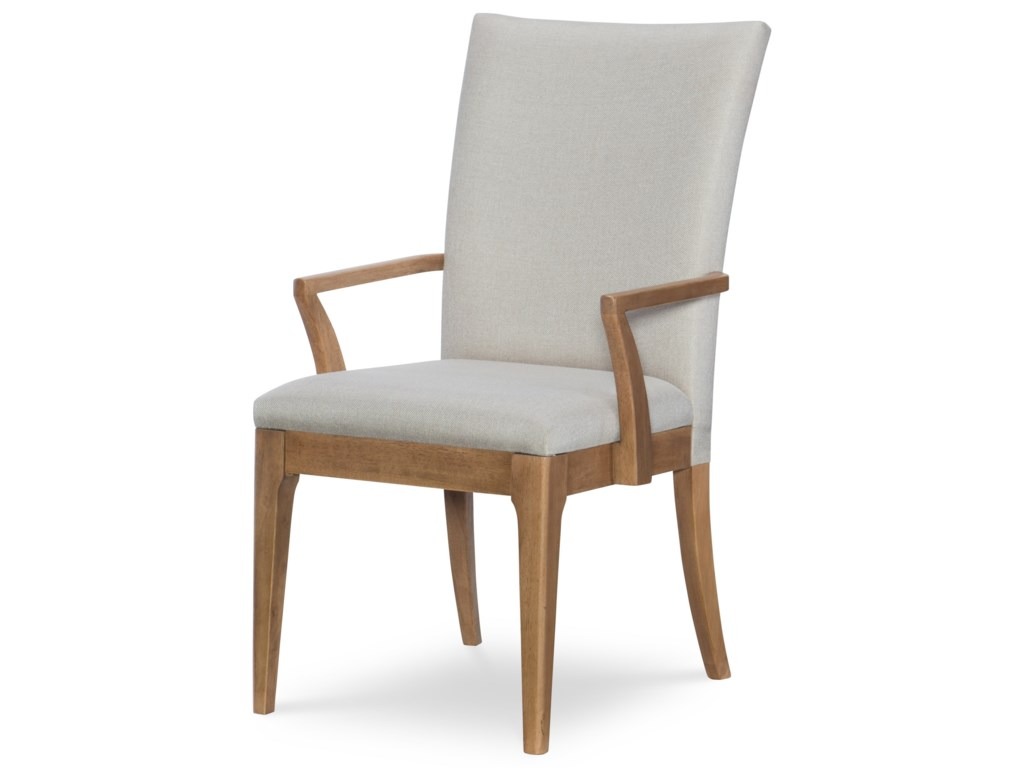 Rachael Ray Home by Legacy Classic Hygge Upholstered Back Arm Chair