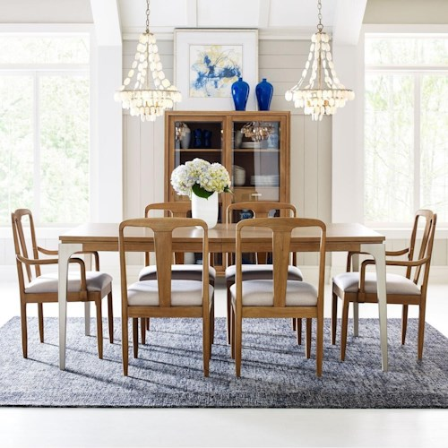 Rachael Ray Home by Legacy Classic Hygge  7 Piece Rectangular Table Set