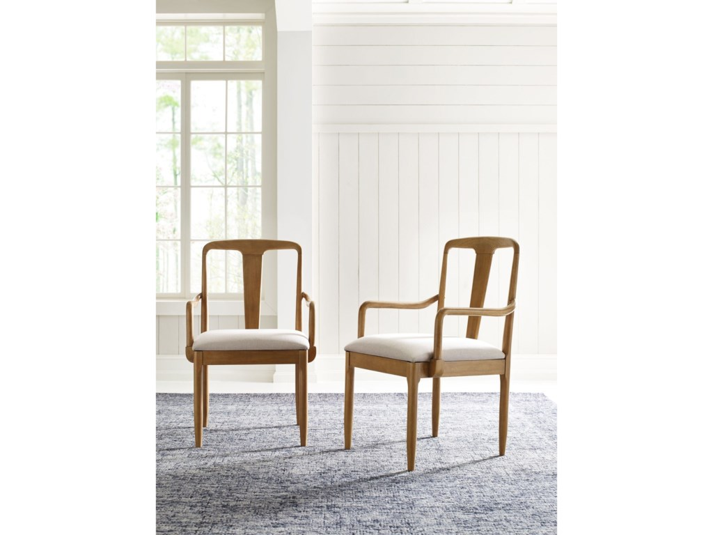 Rachael Ray Home by Legacy Classic Hygge Splat Back Arm Chair
