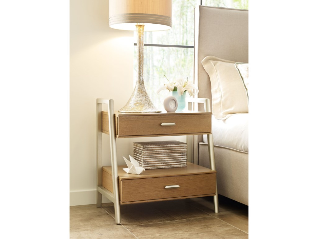 Rachael Ray Home by Legacy Classic Hygge Leg Night Stand