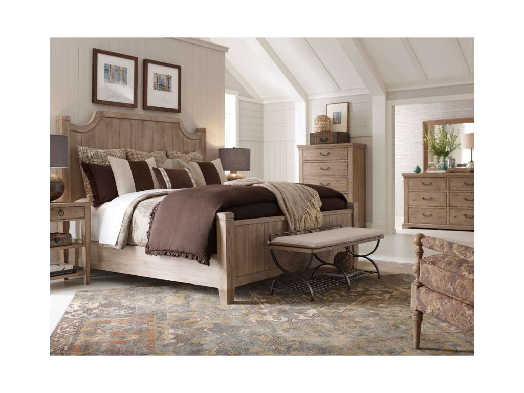 Rachael Ray Home by Legacy Classic Monteverdi California King Bedroom Group