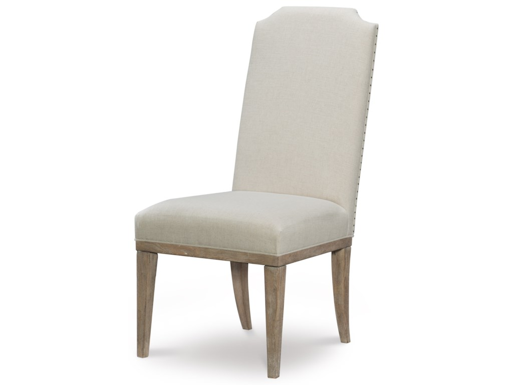 Rachael Ray Home by Legacy Classic Monteverdi Upholstered Host Side Chair