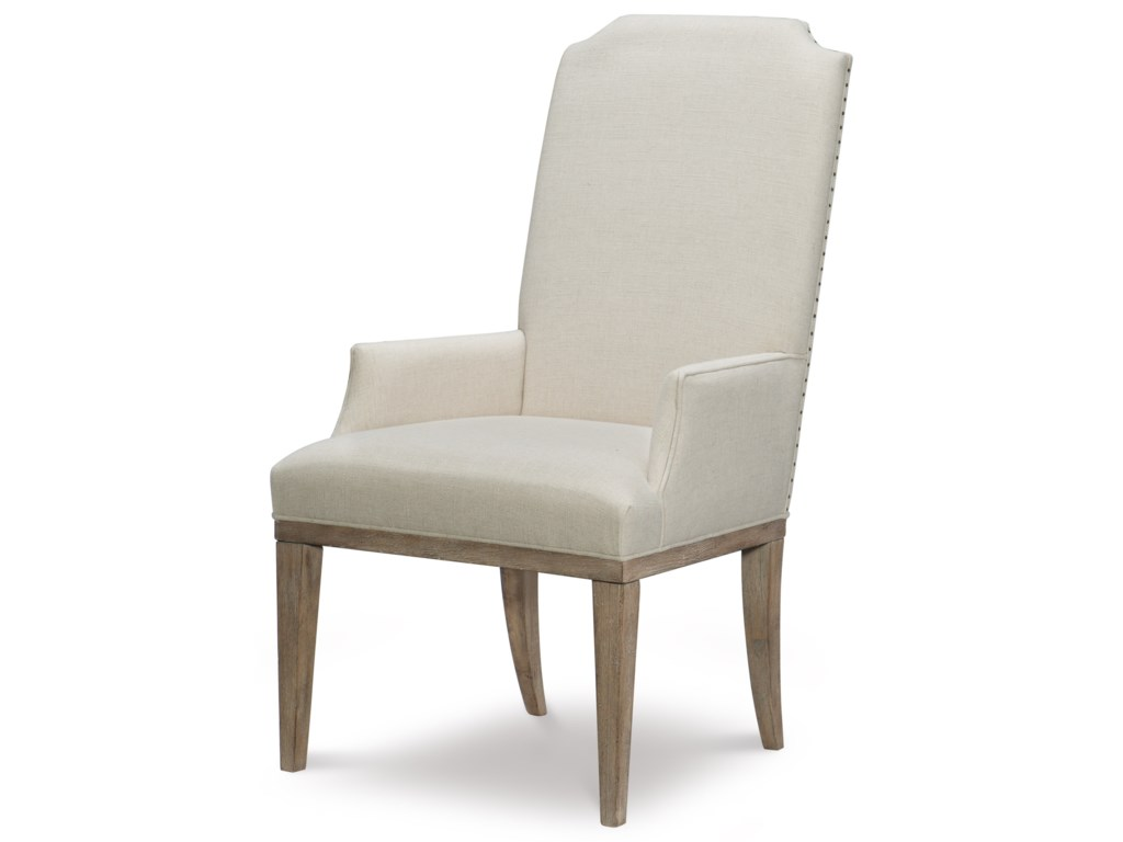 Rachael Ray Home by Legacy Classic Monteverdi Upholstered Host Arm Chair
