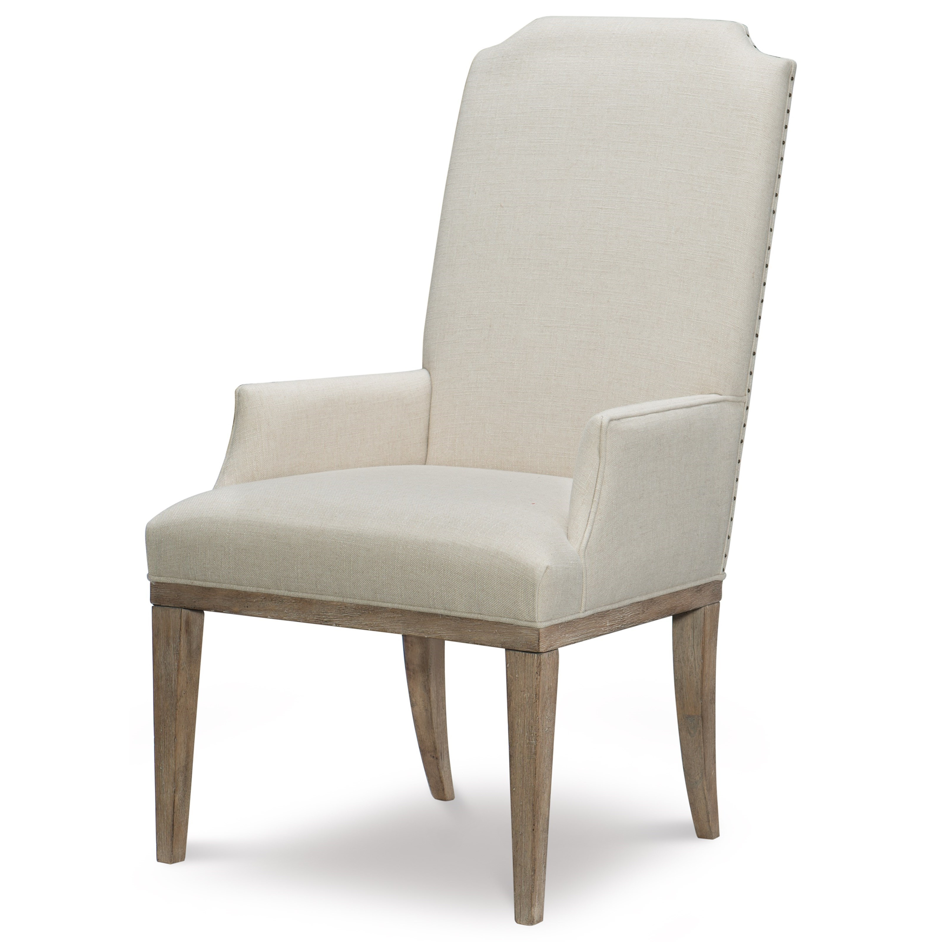 Rachael Ray Home By Legacy Classic Monteverdi Upholstered Host Arm Chair ...