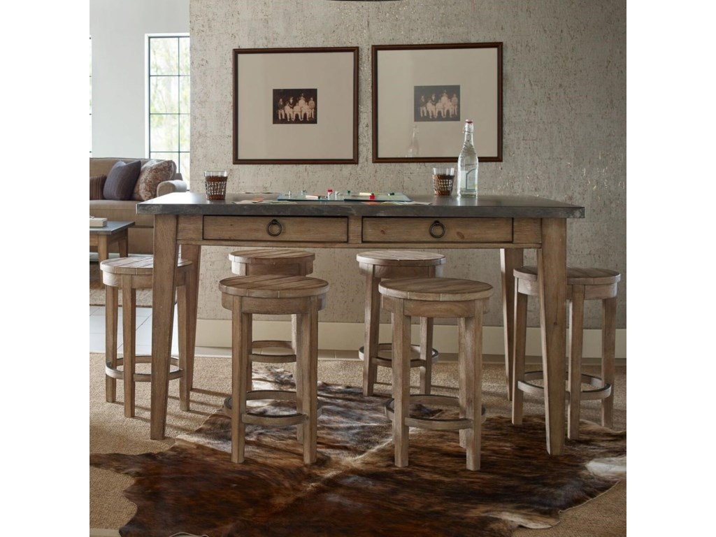 Rachael Ray Home by Legacy Classic Monteverdi 7 Piece Counter Height Pub Dining Set