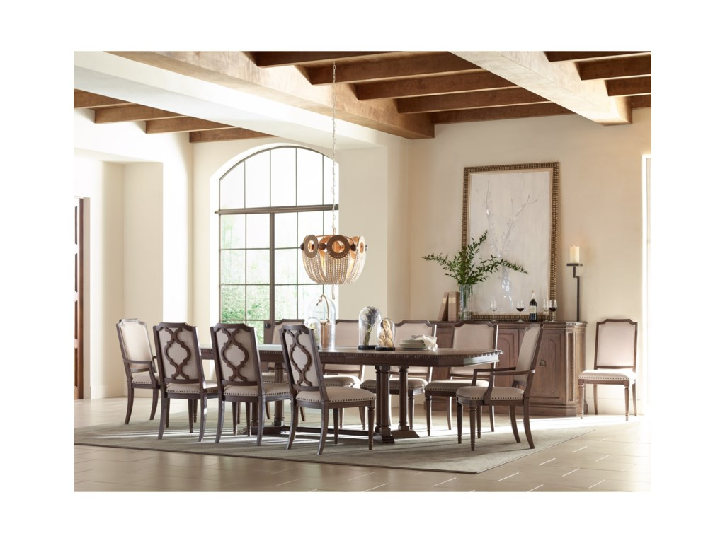 Rachael Ray Home by Legacy Classic Refined RusticDining Room Group