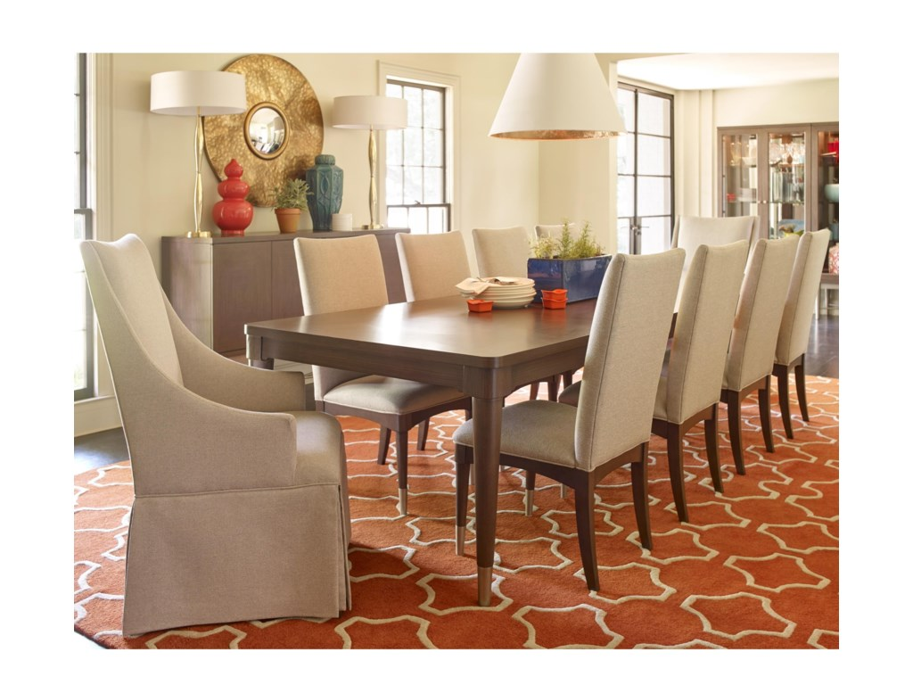 Symphony Leg Dining Room Set, Legacy Classic, Symphony Collection