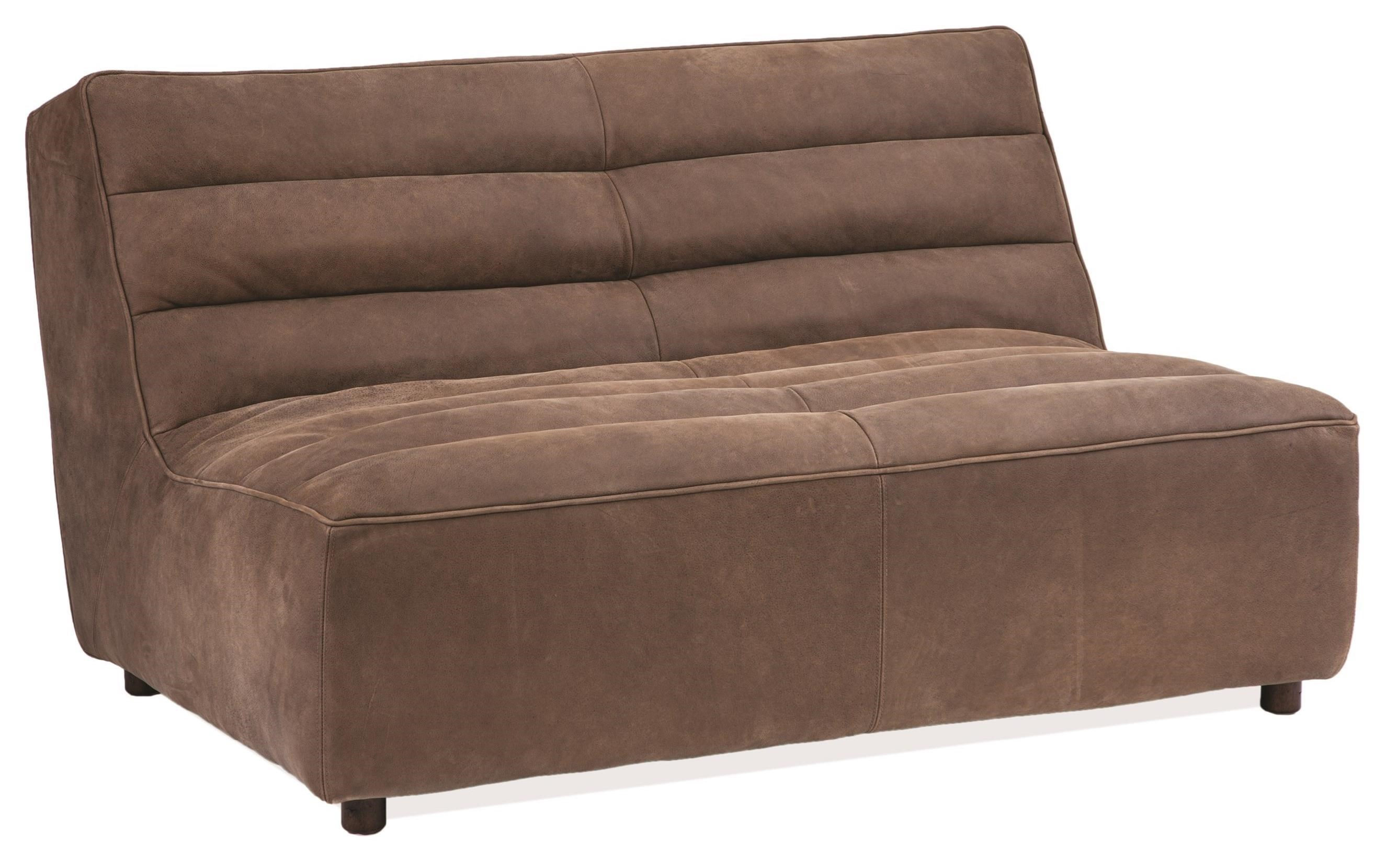 Exceptionnel Harley Armless Loveseat With Channel Tufting By Rachlin Classics