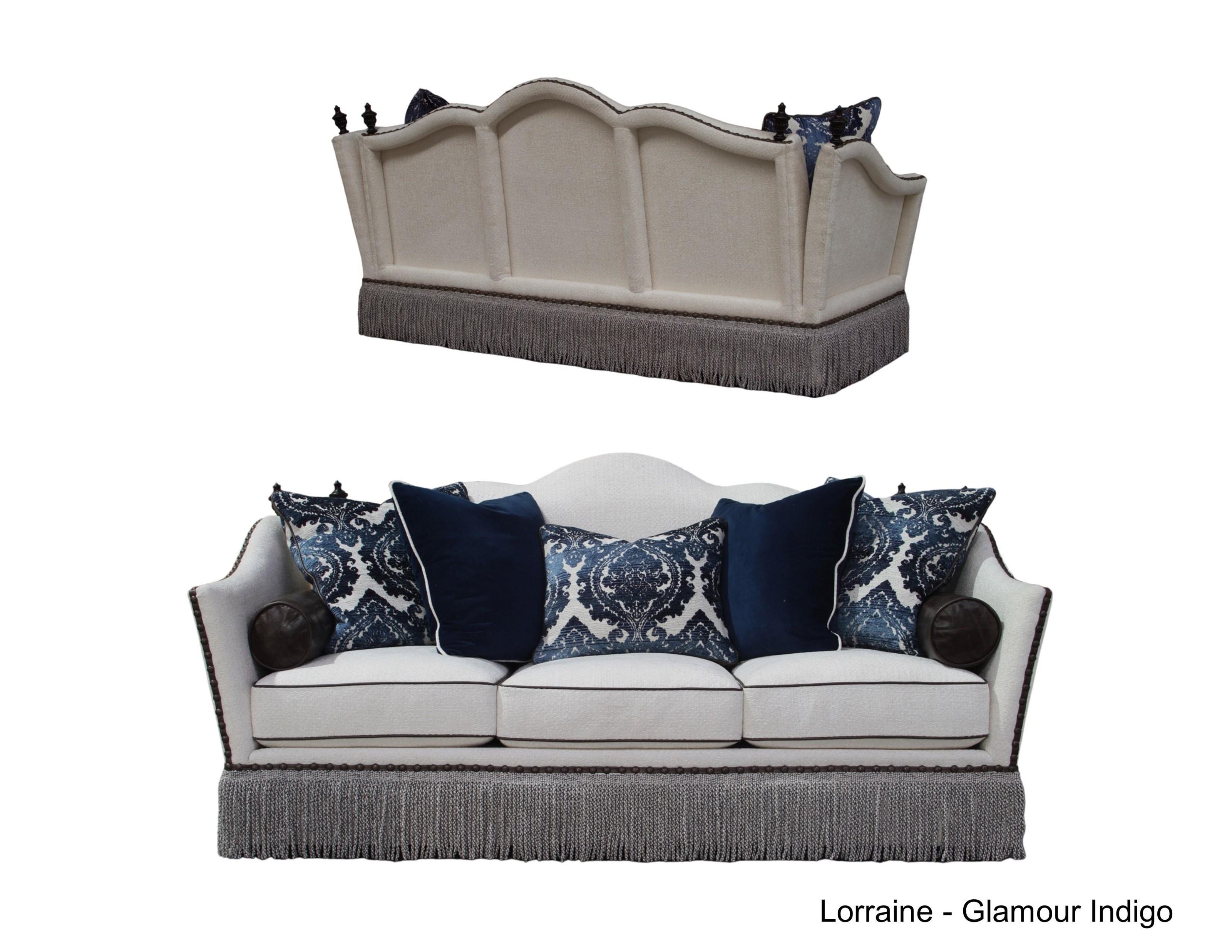 Lorraine Contemporary Sofa By Rachlin Classics