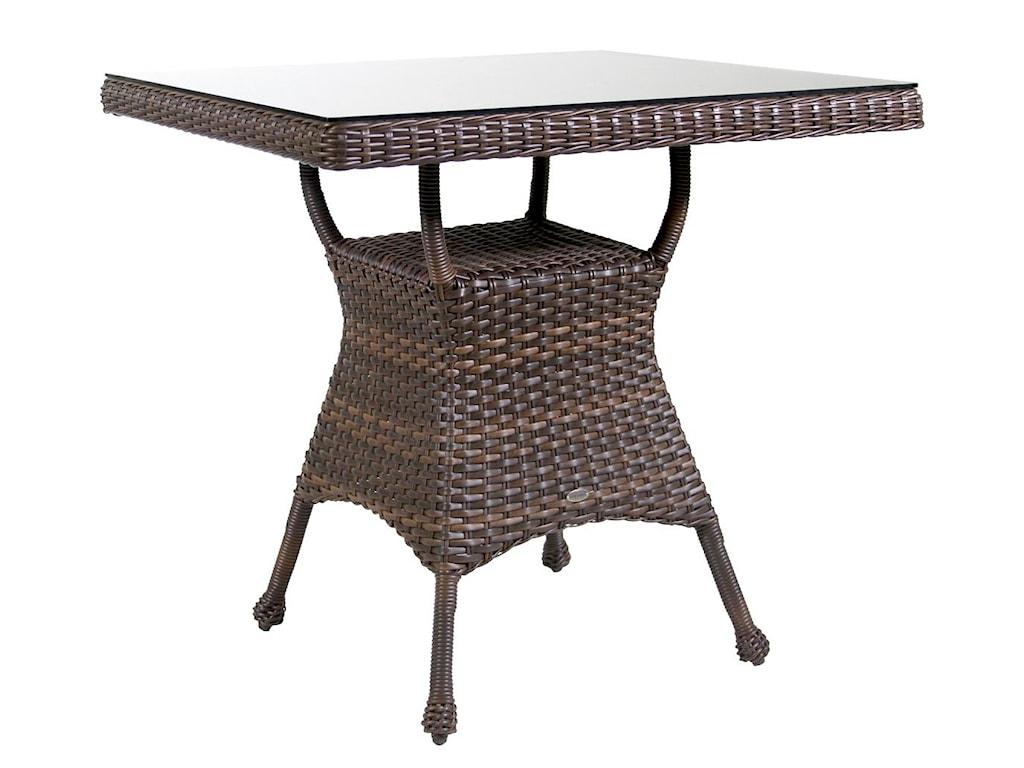 Ratana Havana Club Bar Table With Glass Top HomeWorld Furniture - Ratana outdoor furniture