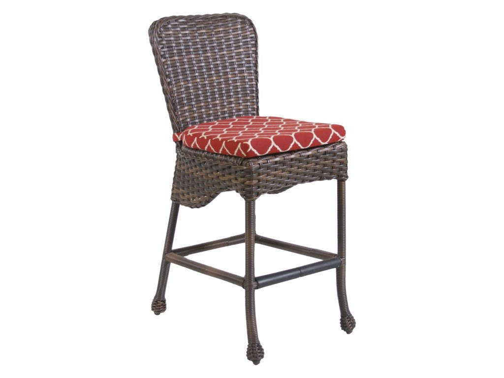 Ratana Havana Club Bar Stool With Seat Cushion HomeWorld - Ratana outdoor furniture