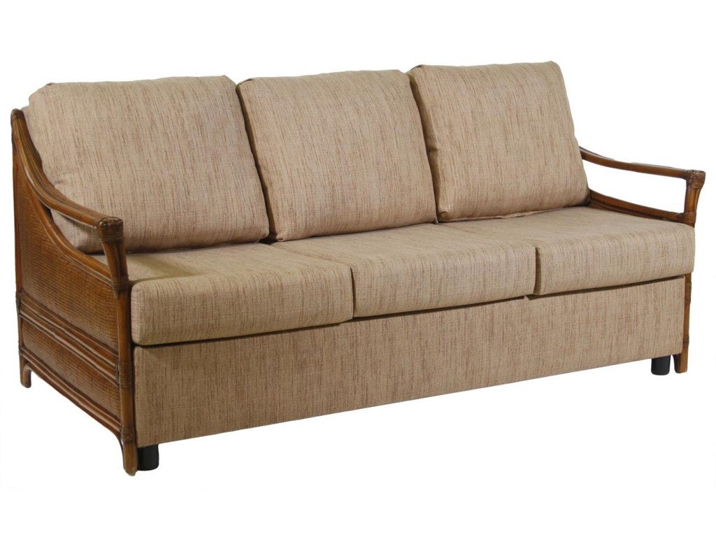 Ratana Waikele Queen Sofabed With Wood Frame HomeWorld Furniture - Ratana outdoor furniture