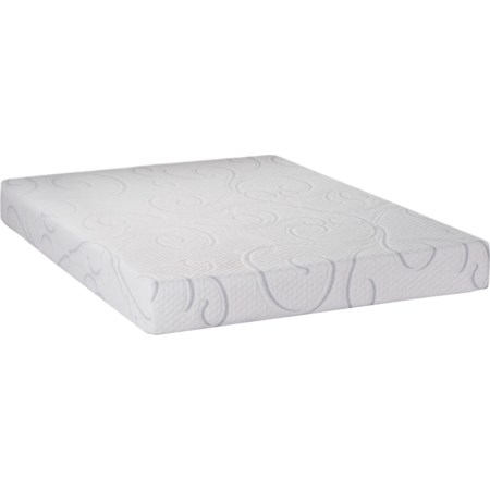 "Queen 8"" Gel Memory Foam Mattress"