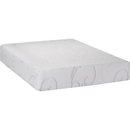 "Twin 12"" Gel Memory Foam Mattress"