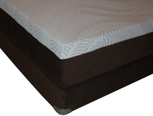 Restonic Advantage Latex King Latex Mattress and Foundation