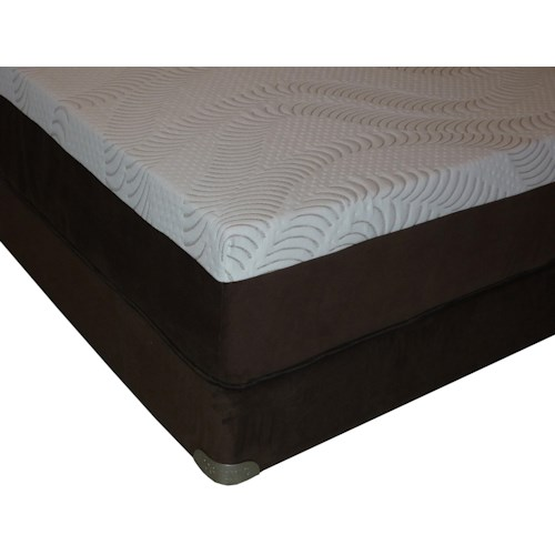 Restonic Advantage Latex Queen Latex Mattress and Foundation