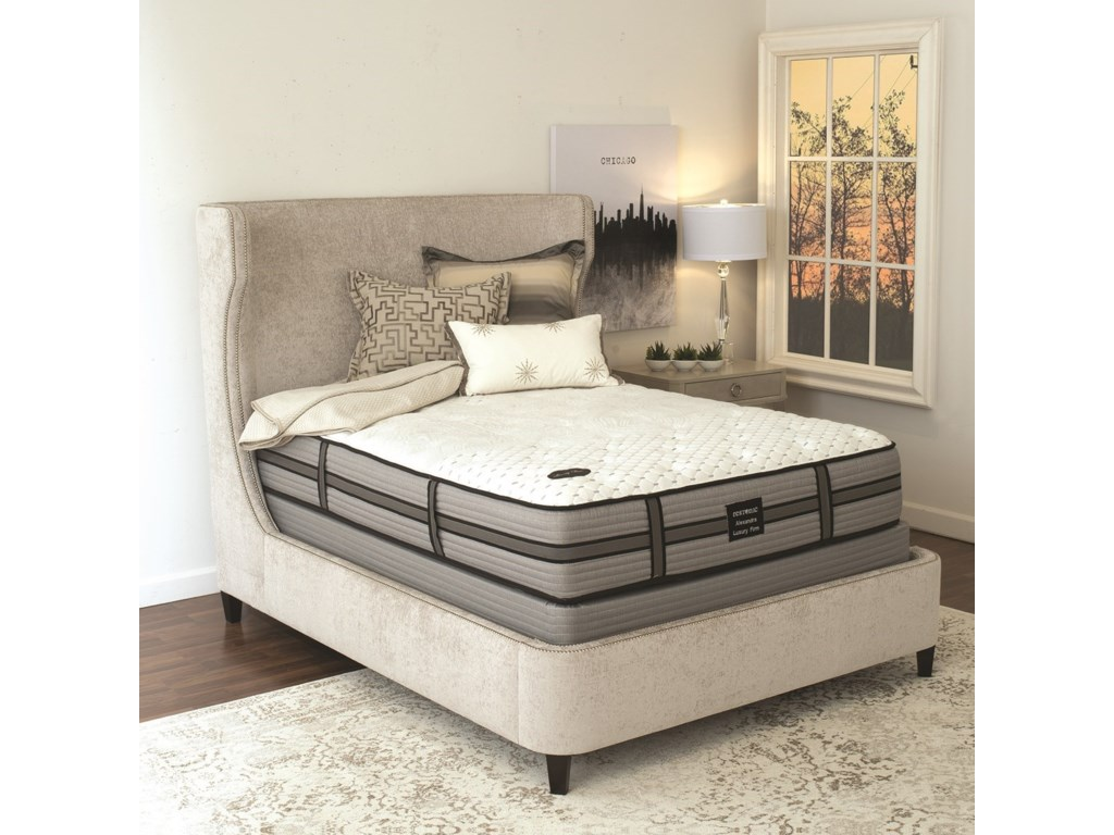 Restonic Alexandra Luxury FirmFull Luxury Firm Mattress Set