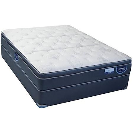 Full Hybrid Pillow Top Mattress Set