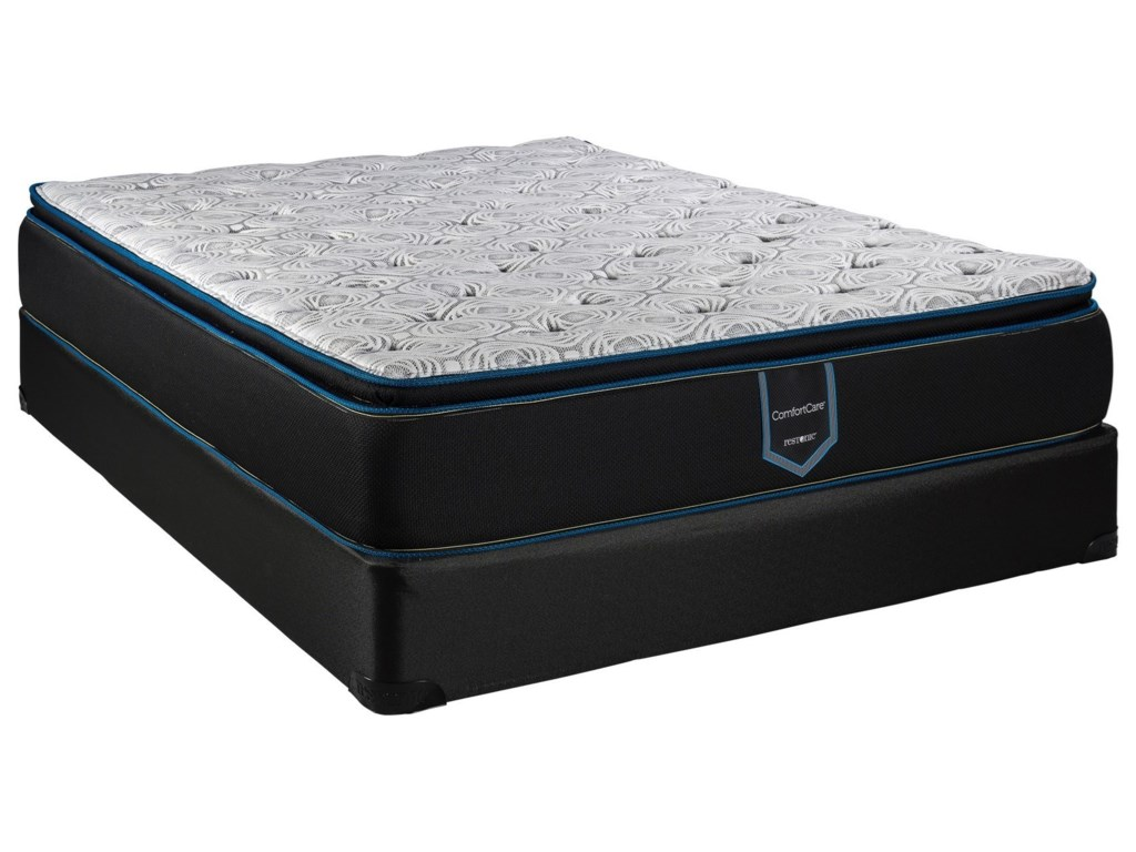 Restonic Arcadia PTTwin XL Innerspring Mattress Set