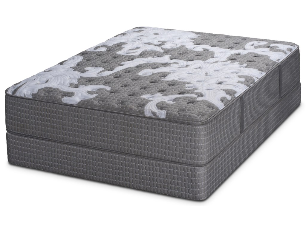 Restonic Beginning FirmQueen Pocketed Coil Mattress Set