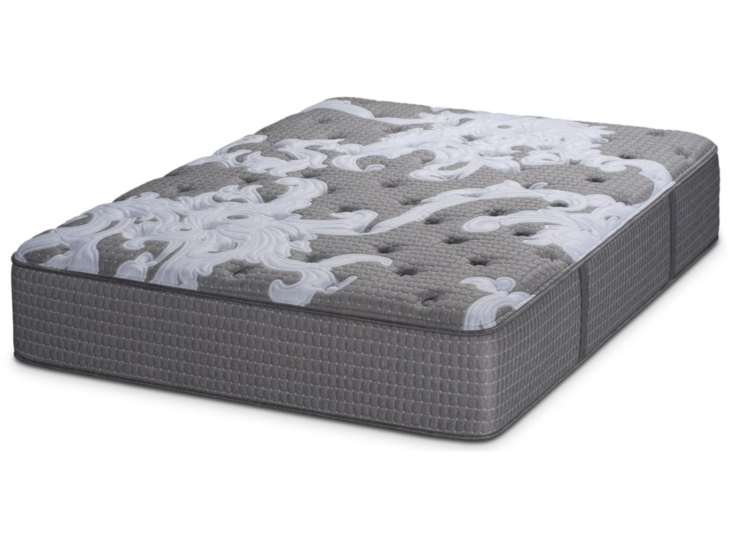 Restonic Beginning PlushCalifornia King Pocketed Coil Mattress Set