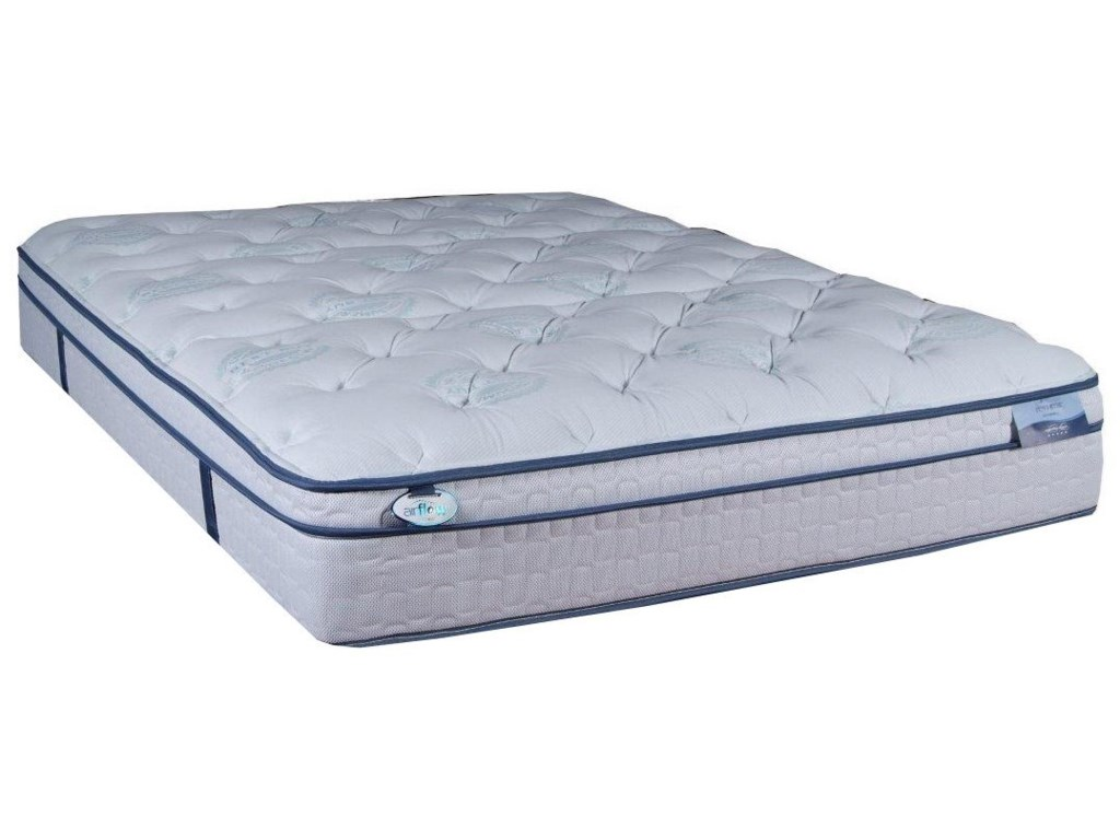 Restonic CC Alexandria Euro TopKing Euro Top Pocketed Coil Mattress