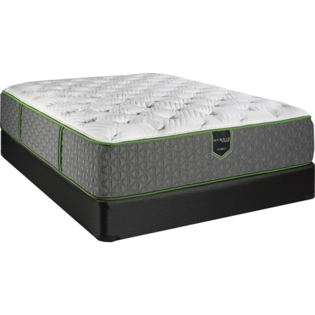 "Queen 14"" Luxury Firm Hybrid Mattress Set"