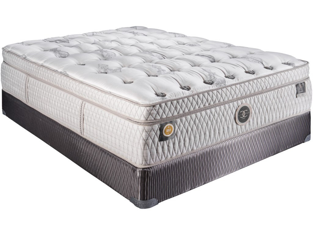 Restonic CC Limited LouvreTwin XL Plush Boxtop Mattress Set