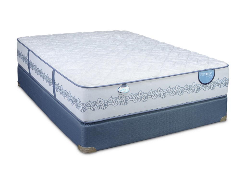 Restonic CC Select PassadenaFull Firm Mattress Set, Low Profile