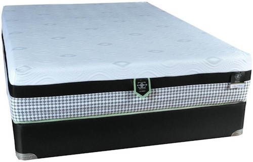 Restonic CC Seraph Twin Hybrid Mattress and 9