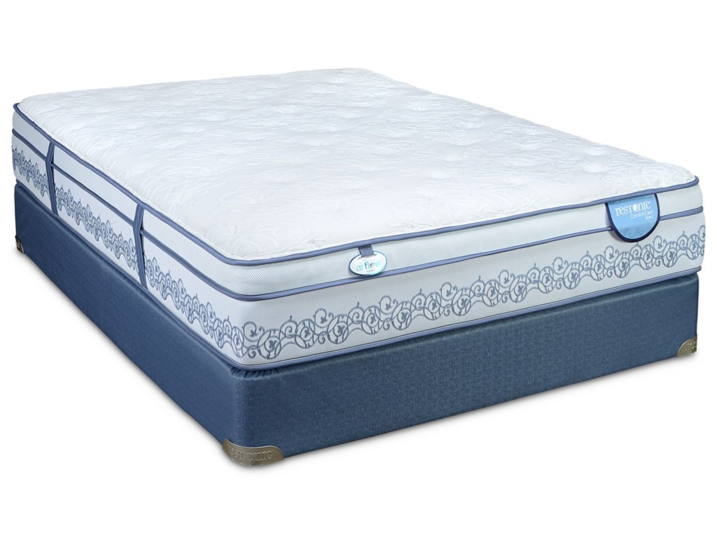 Restonic CC Signature Cornwall Euro TopFull Euro Top Hybrid Mattress Set