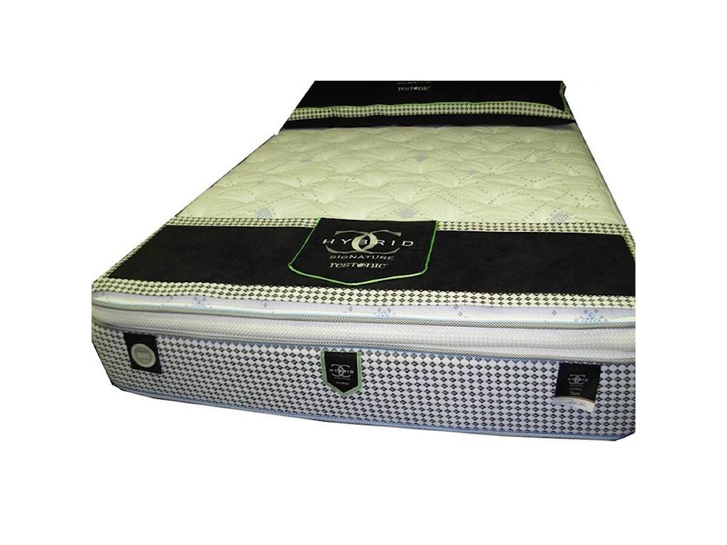 Restonic CC Signature TroyTwin Super Pillow Top Hybrid Mattress