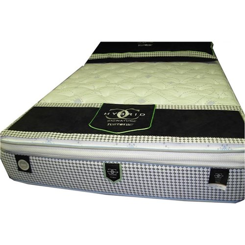 Restonic CC Signature Troy Twin Super Pillow Top Hybrid Mattress
