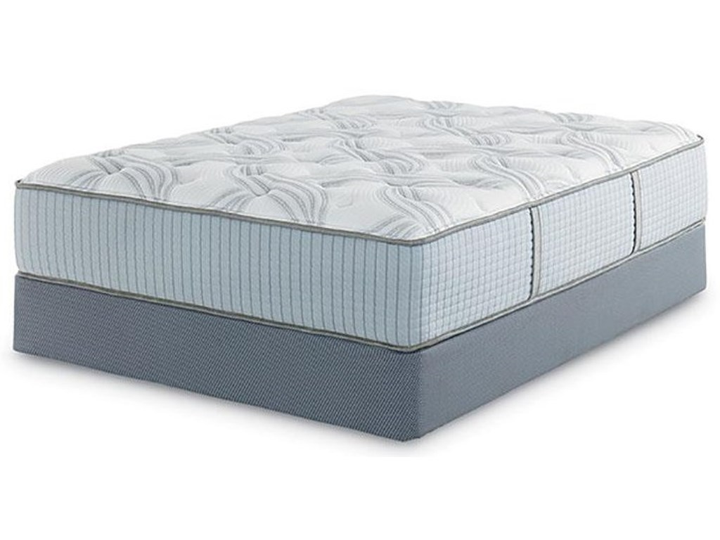 Restonic Clarion Dual SidedQueen Size Mattress and Boxspring