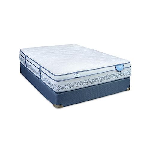 Restonic Comfort Care Caton Cal King Euro Top Mattress