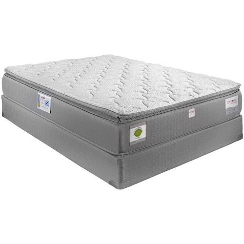 Restonic London King Hybrid Pillow Top Mattress