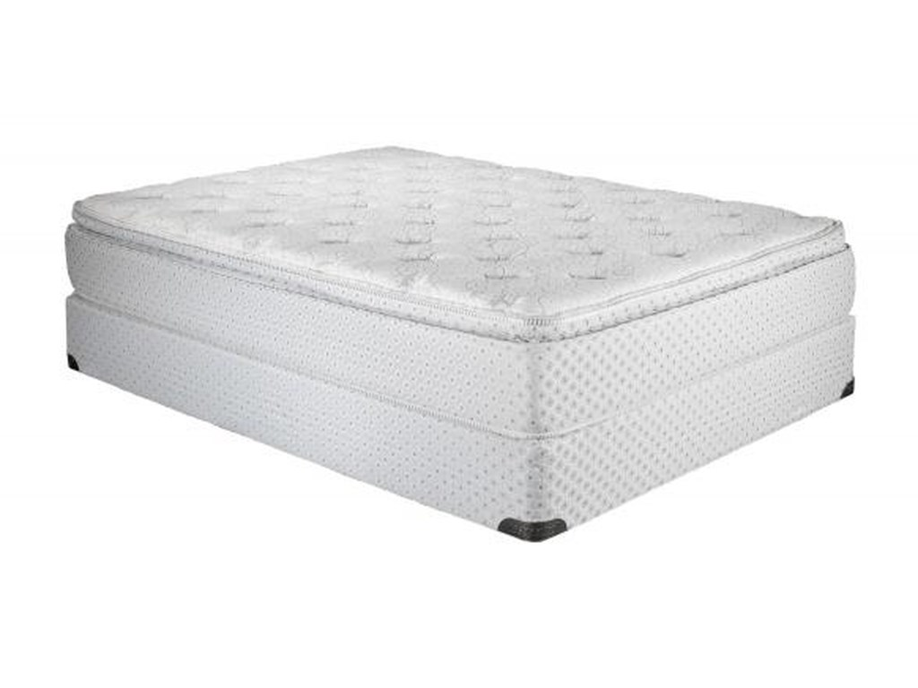 Twin Pillow Top Mattress And Foundation Comfortcare Atlantis By