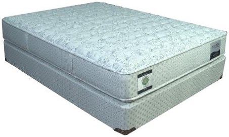 Restonic Baronet Twin Firm Mattress and Foundation
