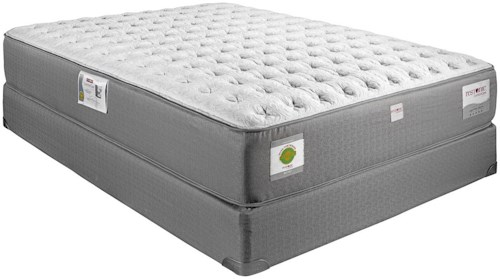 Restonic ComfortCare Select - Gentilly II Queen Extra Firm Hybrid Mattress and Foundation